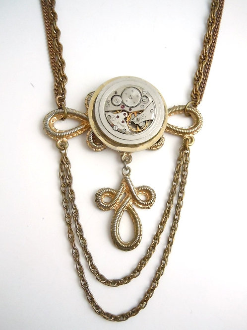Chained Time Necklace