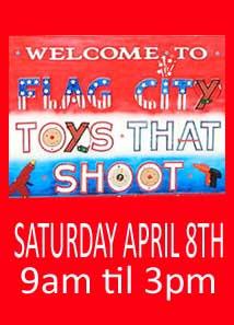 2017 Flag City Toys That Shoot Show April 8th