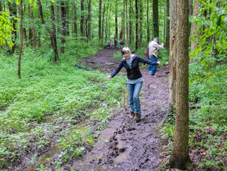 June Match Plagued by Wet and Muddy Conditions on Woods Course