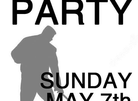 Work Party at CCCC Sunday May 7th 10:00am