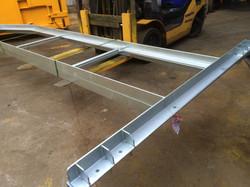 Compactor guide rails