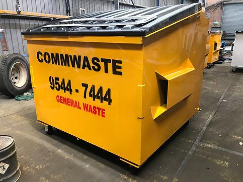 3.0m3 Front Lift Bin - Commercial Waste Management Sydney