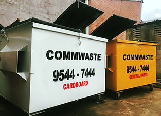 Front lift bins commercial waste managem