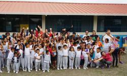 Niños escuela John F. Kennedy
