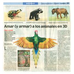 Publicación en diario El Comercio
