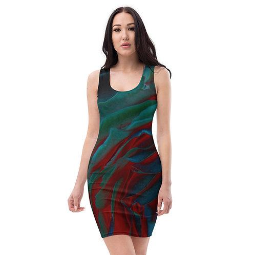 Lorian Hollow Sublimation Cut & Sew Dress