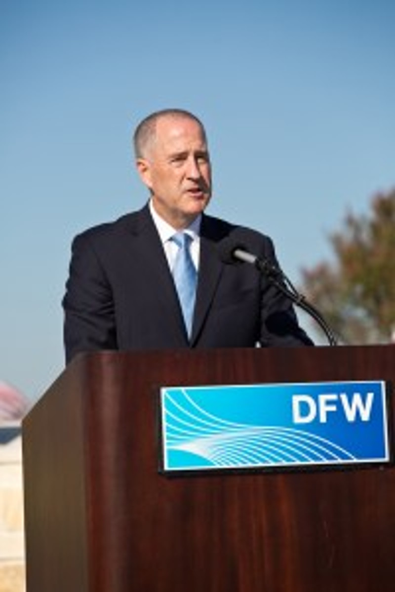 DFW Airport CEO Sean Donohue