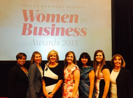 Mabrie Jackson Honored at 2015 DBJ Women in Business Awards