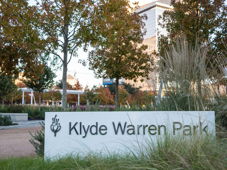 Klyde Warren Park | A Park Bridging Dallas
