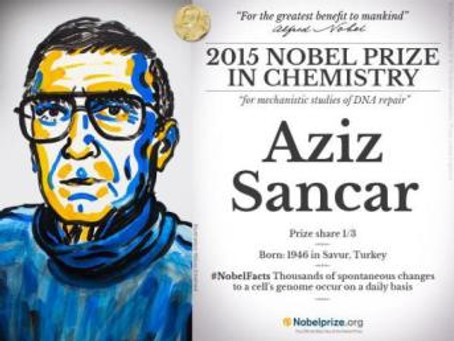 UT Dallas Alum Wins Nobel Prize