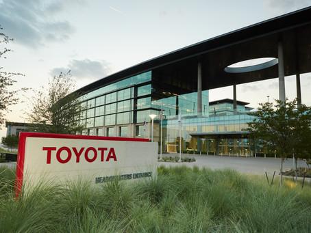 Toyota Relocates to North Texas
