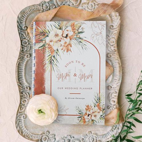 A5 Standard Wedding Planner Book - Terracotta (Ready To Ship)
