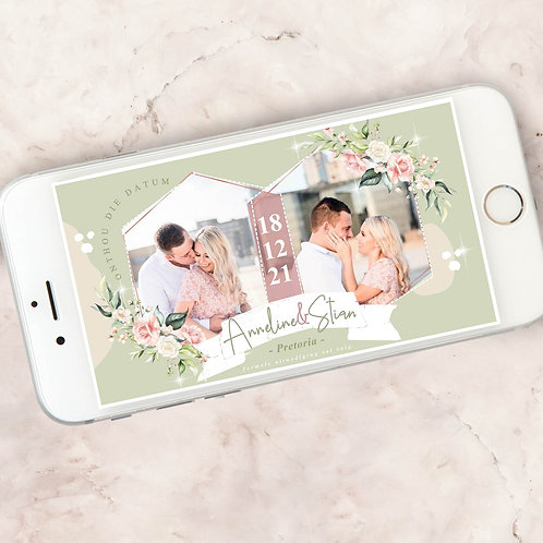 Mystical Digital Save The Date Photo (Ready To Order)