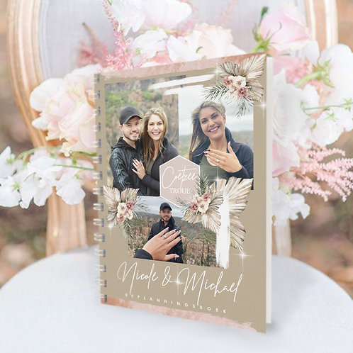 A4/A5 Personalised Budget Wedding Planner Book (Couture Design)