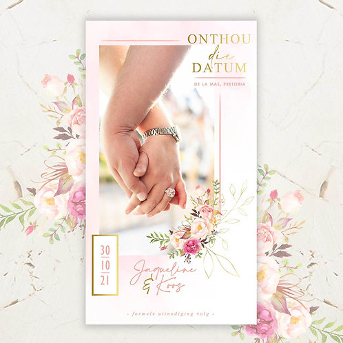 Forever Young Digital Save The Date Photo (Ready To Order)