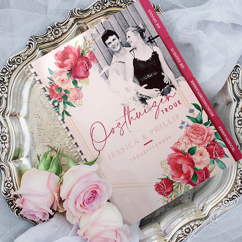 A4/A5 Ultimate Wedding Planner Book - Personalised (Couture Design)