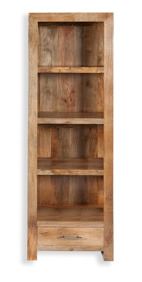Mango Tall Bookcase With Draw | Furniture Store | Swadlincote | Roger James  Furnishers
