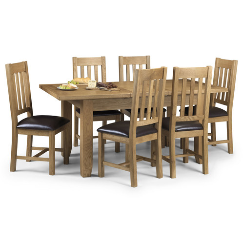Astoria Oak Table And 6 Chairs