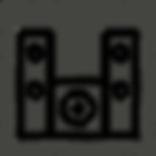 رمز سبيكرات انظمة صوت