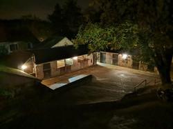 Le poney-club, un soir de confinement.