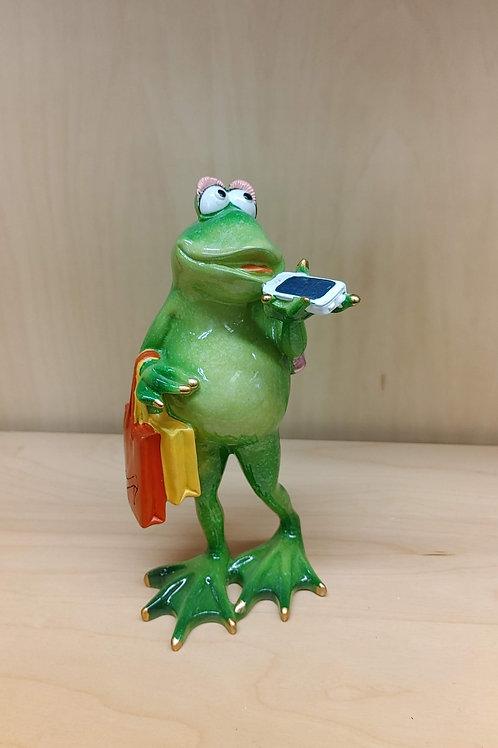 Shop till you Drop Frog
