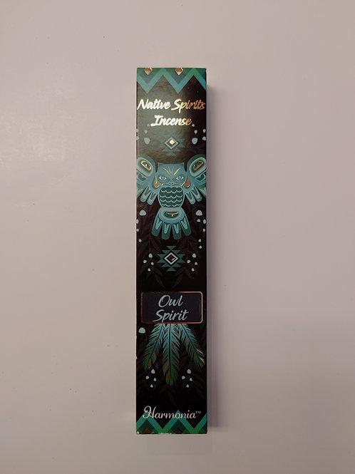 Native Spirits Incense - Owl Spirit