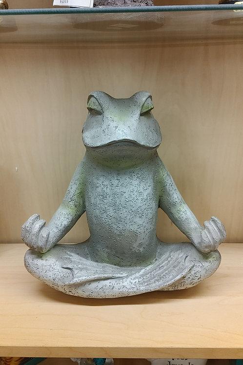 Meditation in the Garden Frog