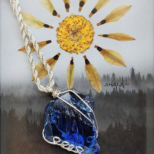 Blue Andara Glass