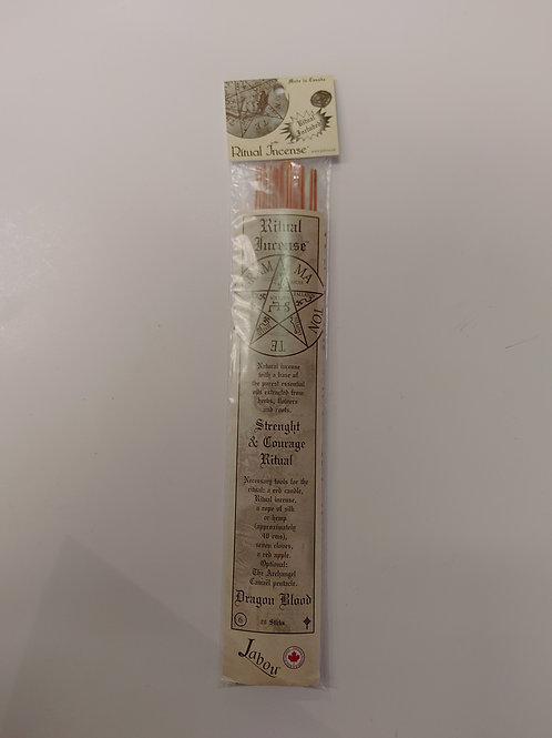 Ritual Incense - Strength & Courage