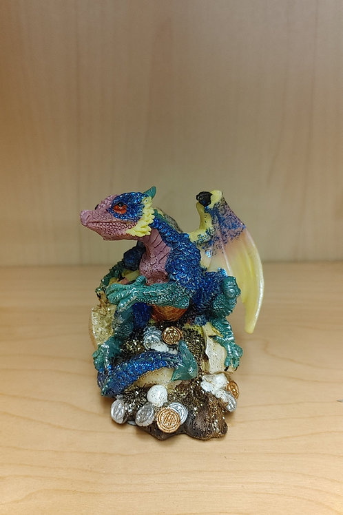 Blue Money Dragon