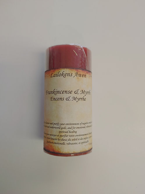 Lailokens Awen - Frankincense & Myrrh