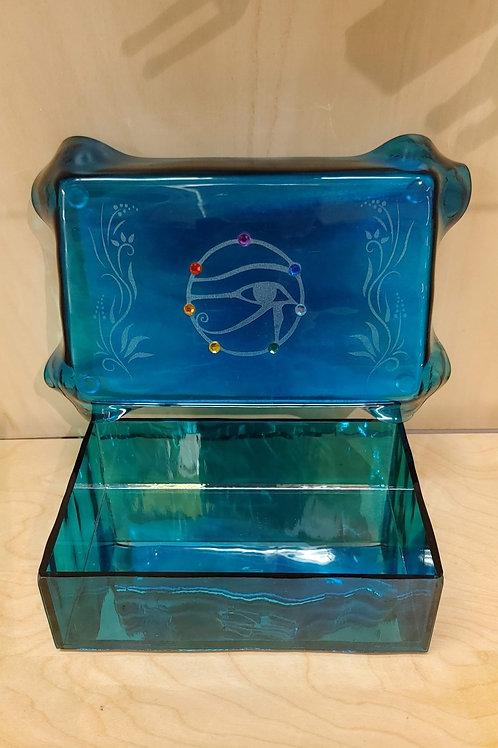Ra Glass Jewelry Box