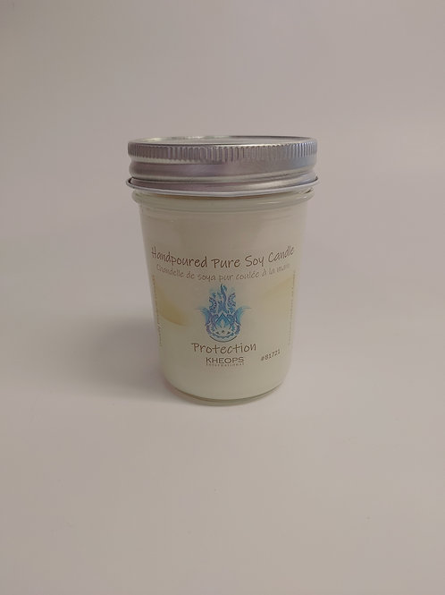 Canadian Hand-poured Pure Soy Candles - Protection