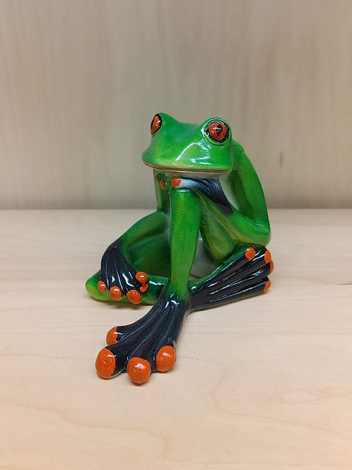 Deep in Thought Frog