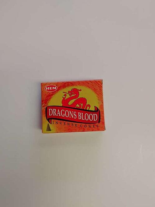 Hem - Dragons Blood Cones