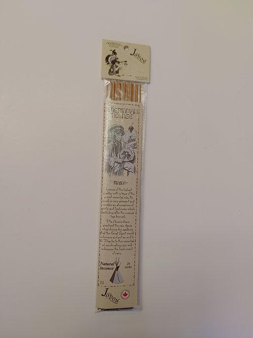 Jabour  - Amerindian Incense - Rain