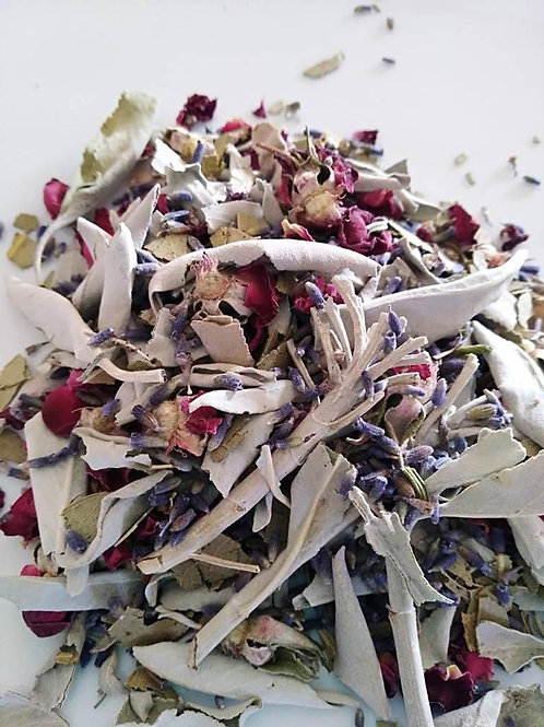 White Sage and Rose Blend