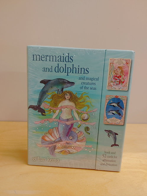 Mermaid & Dolphins Affirmation Cards
