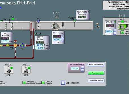 Интеграция контроллеров вентиляции с Modbus RTU в систему автоматизации здания TAC Vista с LonWorks
