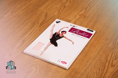 Soft pink ballet tights