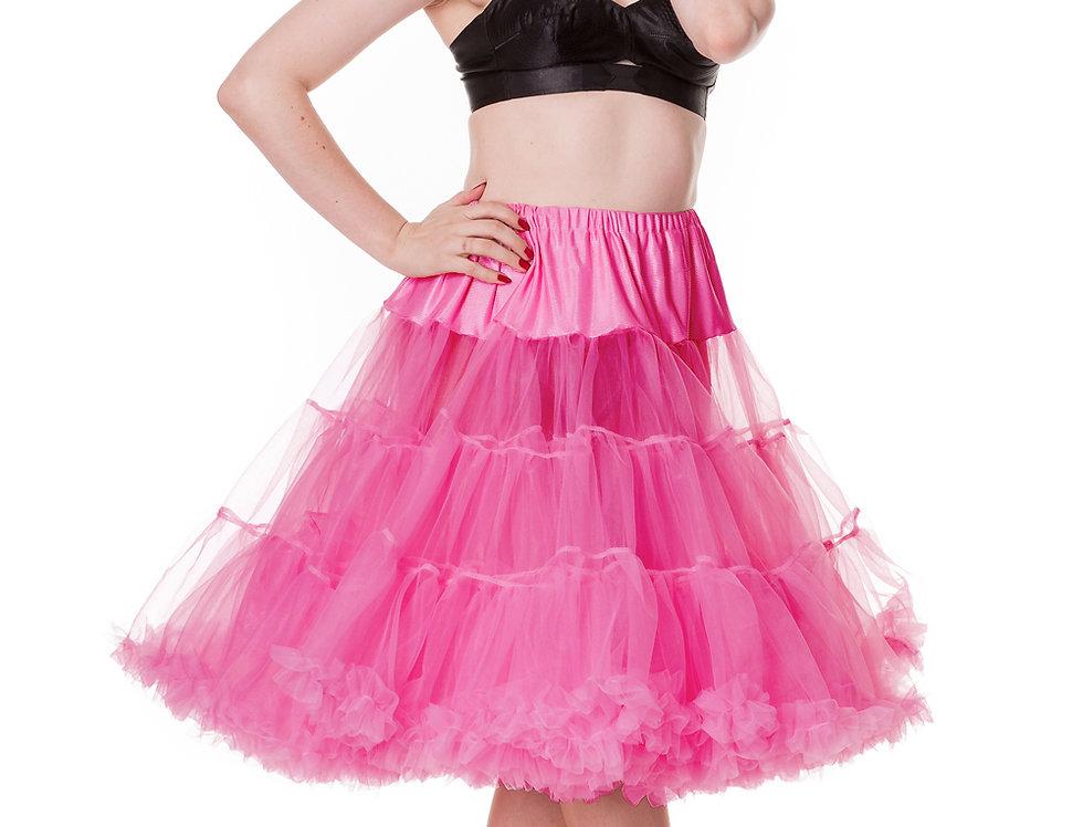 Hot Pink Hell Bunny Petticoat