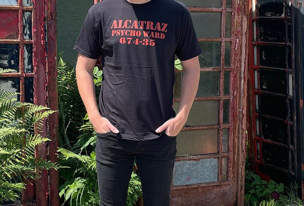 Alcatraz Tee for Men - black