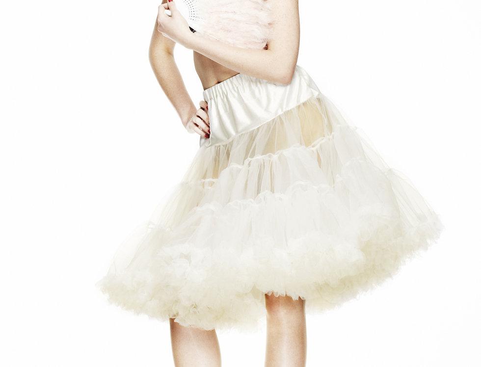 Ivory Hell Bunny Petticoat
