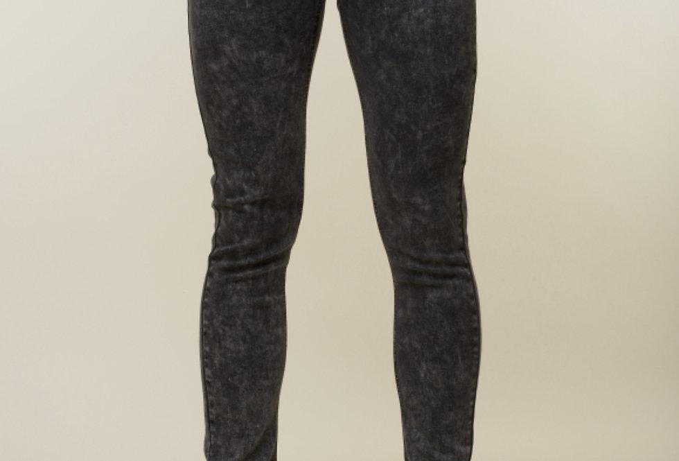 Criminal Damage Acid Wash skinny Men's jeans - Grey