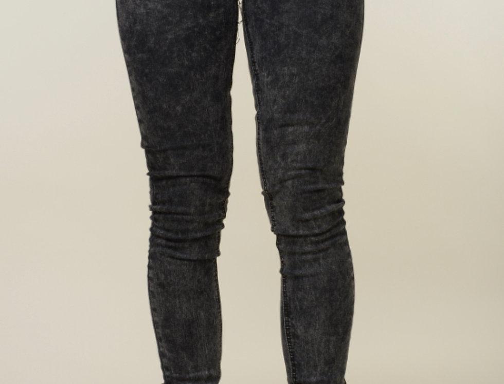 Criminal Damage Acid Wash skinny jeans - Grey