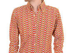 Geometric Clouds Shirt
