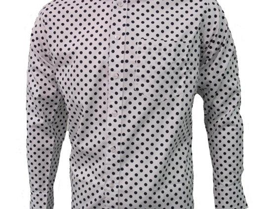 Relco Long Sleeve Shirt - Polka Dot