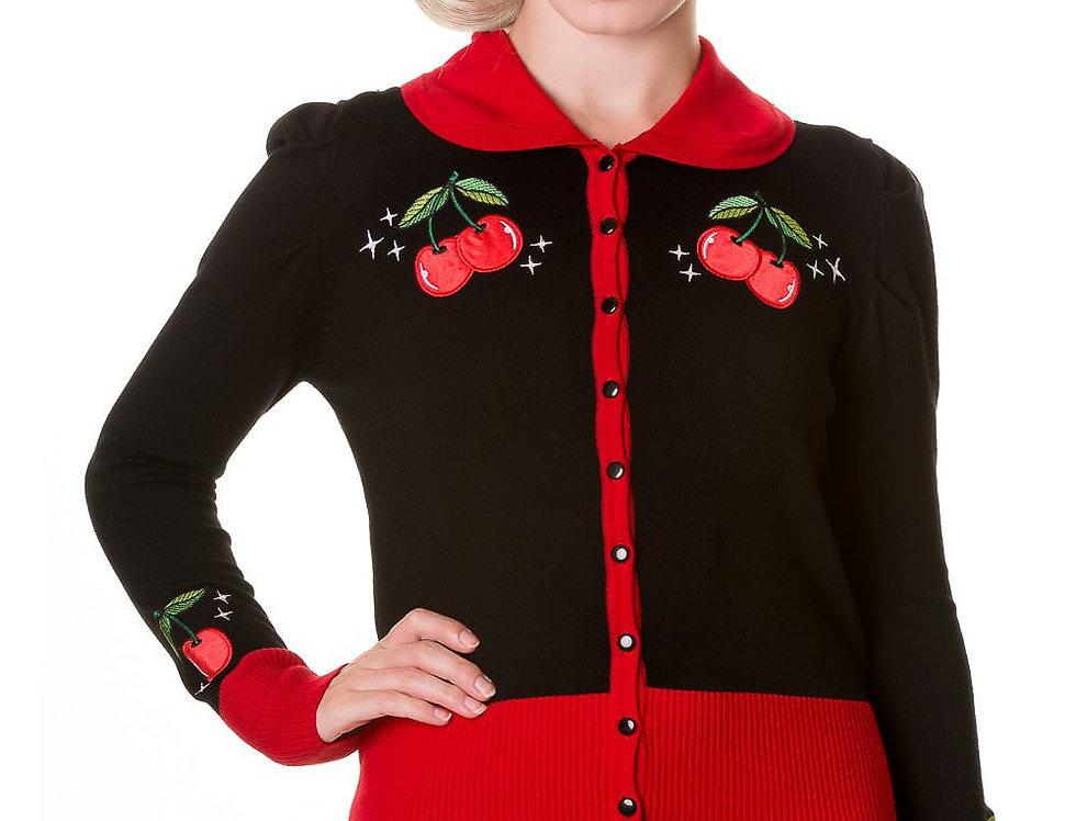 Vintage Cherry Cardigan