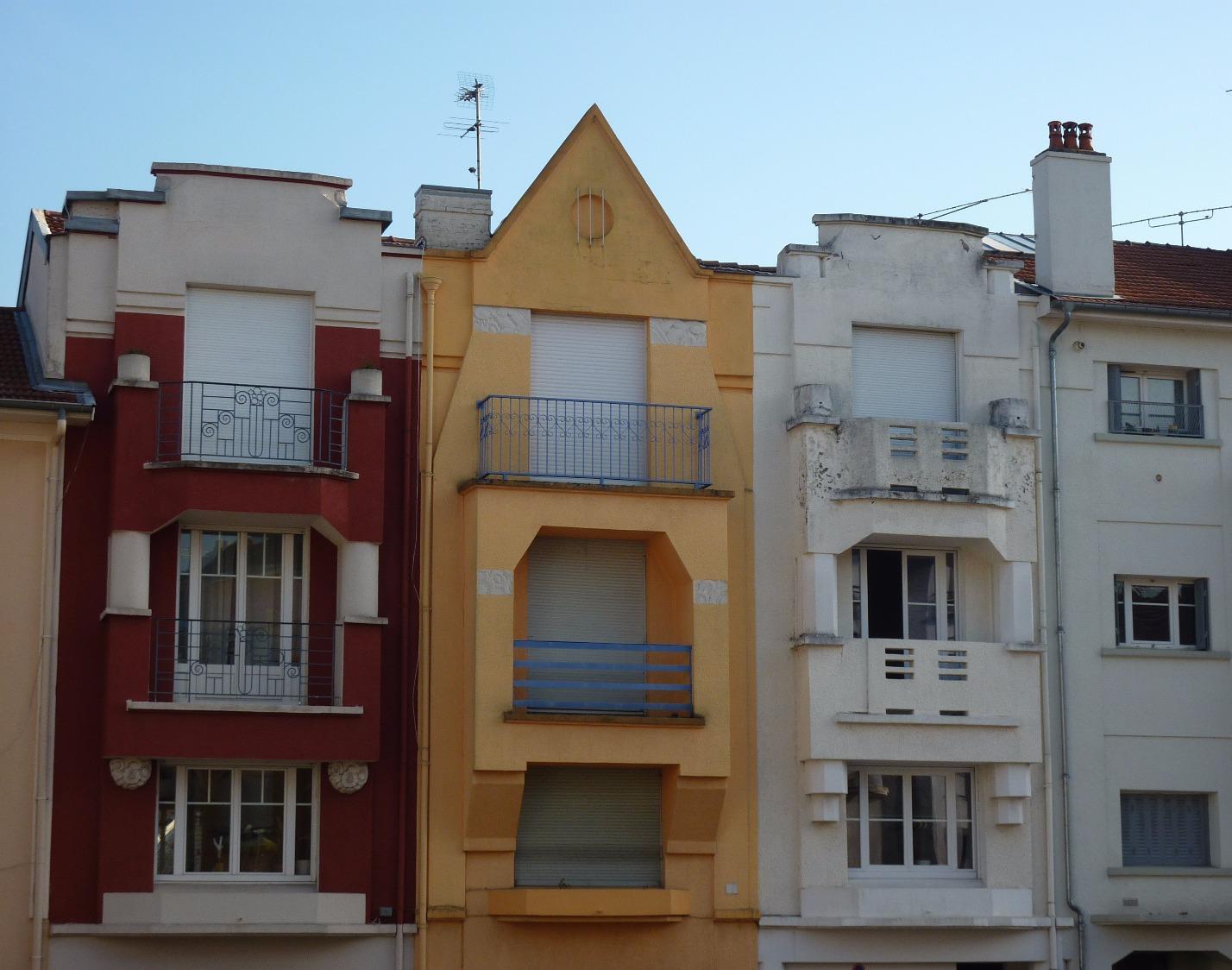 Immeubles Art déco