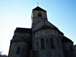 Chevet et absides romans